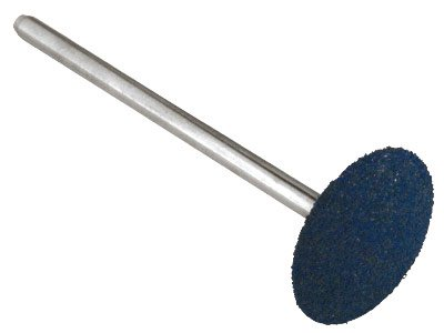 Eveflex Rubber Burr, 508 Blue -    Coarse, On A 2.34mm Shank