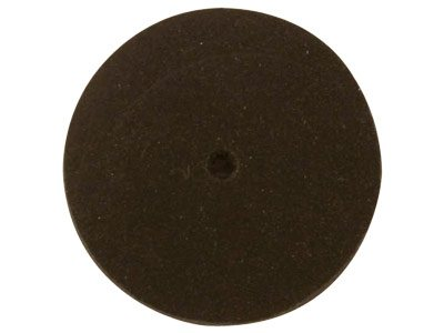 Silicone Rubber Wheel-black Black  Coarse