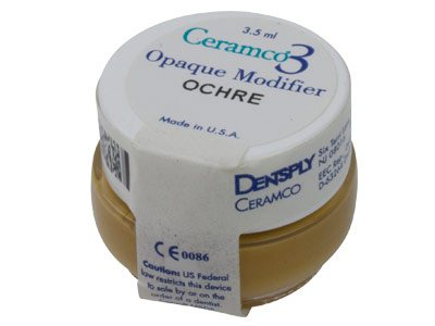 Ceramco 3 Paste Opaque Modifier    Ochre, 3.5ml