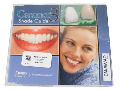 Ceramco 3 Dentin Modiffiers       Mamelon Shade Guilde
