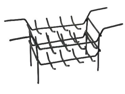 Plastic Double Rack For Ultrasonic Cleaner