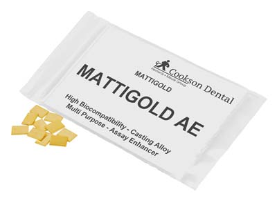 Mattigold Ae Casting Pieces, 7mm X 10mm, In 1gm Pieces