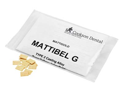 Mattibel G Casting Pieces, 7mm X   10mm, In 1gm Pieces