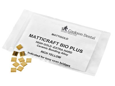 Matticraft Bio Plus Casting Pieces, 7mm X 7mm, 1gm Pieces