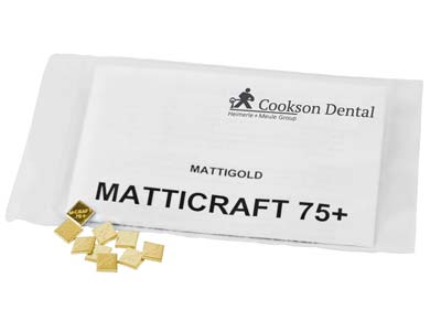 Matticraft 75 Casting Pieces, 5mm X 5mm, In 1gm Pieces