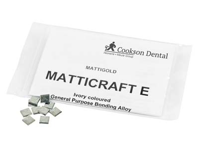 Matticraft E Casting Pieces, 7mm X 7mm, In 1gm Pieces