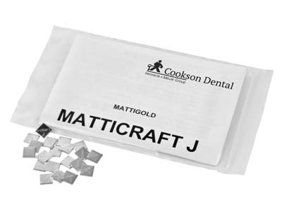 Matticraft J Casting Pieces, 7mm X 7mm, 0.5gm Pieces