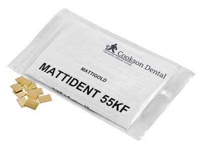 Mattident 55kf Stamped Pieces