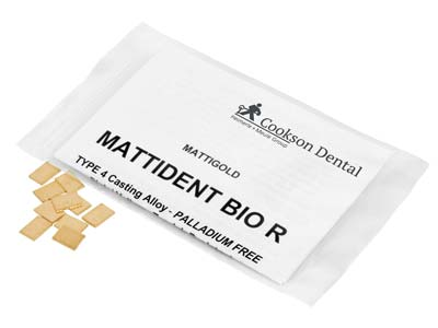 Mattident Bio R Casting Pieces, 7mm X 10mm, In 1gm Pieces