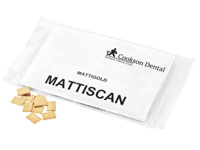 Mattiscan Casting Pieces, 10mm X   7mm, In 1gm Pieces