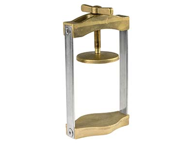 Brass Flask Clamp Double