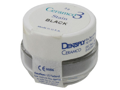 Ceramco 3 Stain Black 3gm