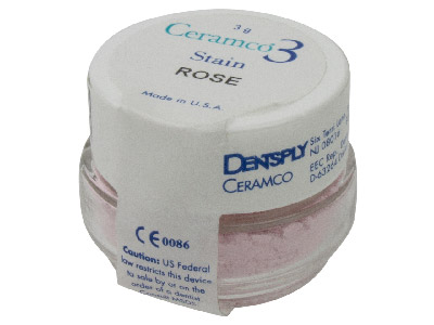 Ceramco 3 Stain Rose 3gm