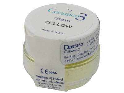 Ceramco 3 Stain Yellow 3gm