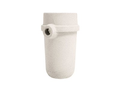 Std. White Medium Spout Crucible   Linn