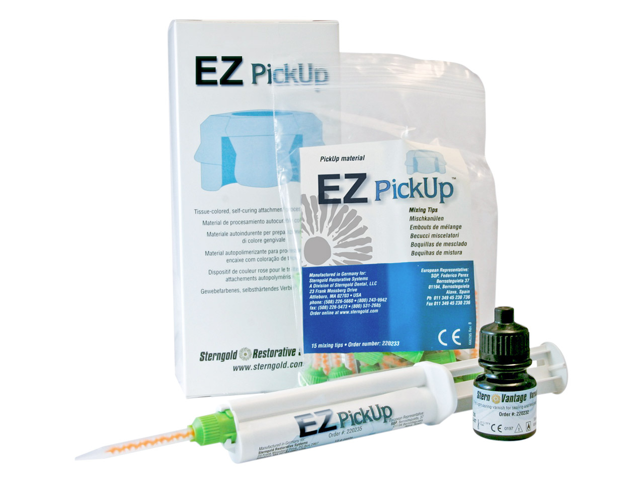 Ez Pick-up Syringe + Tips +        Varnish220237