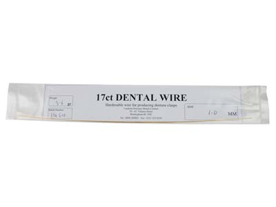 17ct Platinized Dental Wire 1.0mm  Diameter