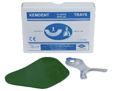 Kemdent Special Tray Blanks Outfit Upper, Box Of 12