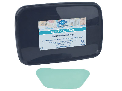 Kemdent Light Cure Trays Aqua Green