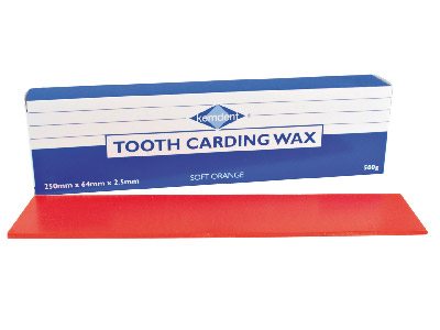 Kemdent Tooth Carding Wax Soft/Orange