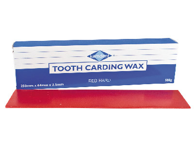 Kemdent Tooth Carding Wax Hardred, 500gm